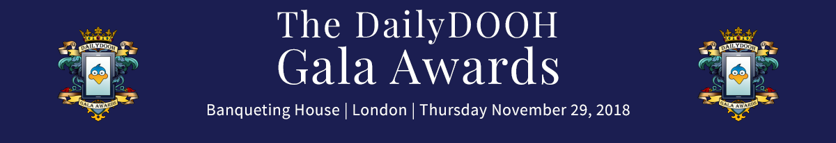 DailyDOOH Gala Awards 2018 Logo